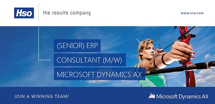 Senior ERP Consultant Microsoft Dynamics AX (m/w)