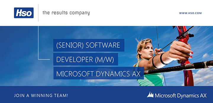 Microsoft Dynamics AX Software Developer (m/w)